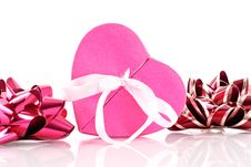 Free Heart Shaped Gift Box Royalty Free Stock Photo - 17060605