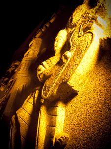 Free Wall Carving At Taman Sahabat, Kuching, Sarawak Royalty Free Stock Photography - 17060947