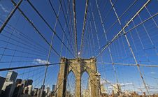 Free Brooklyn Bridge Royalty Free Stock Photos - 17061498