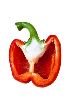 Free Half Of Sweet Pepper Stock Photo - 17061520