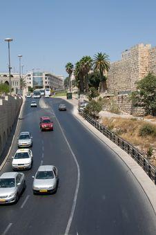 Modern Jerusalem . Stock Photo