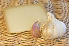 Free Garlic And Cheese Royalty Free Stock Photo - 17062305