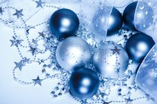 Free Christmas Balls Royalty Free Stock Photo - 17063045