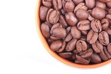 Free Aerial Coffee Beans Royalty Free Stock Photo - 17063085