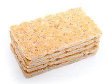 Free Slices Of Crispbread Royalty Free Stock Image - 17063206