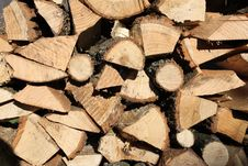 Free Pile Of Firewood Stock Images - 17063364