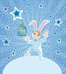Free Funny Rabbit Stock Photo - 17064100
