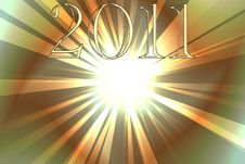 Free New Year 2011 Fireworks Royalty Free Stock Photos - 17064118