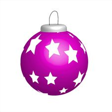 Free Pink Christmas Ball Royalty Free Stock Photo - 17064325