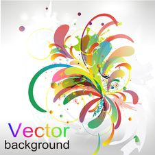 Free Abstract Vector Colorful Background Royalty Free Stock Images - 17064429