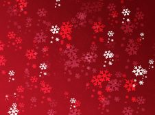 Free Winter Background With Snowflakes Royalty Free Stock Photo - 17064725
