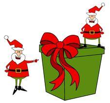 Free Happy Santa Claus Royalty Free Stock Photo - 17064815