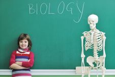 Learn Biology In School Royalty Free Stock Photo