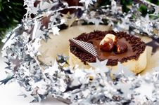 Chocolate Tart Royalty Free Stock Images