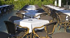Free Table And Chairs In Outdoor Stock Photo - 17066870