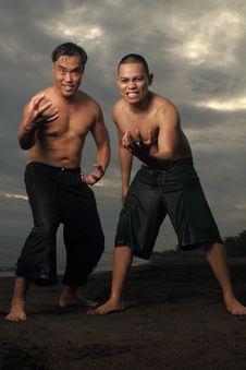 Men At The Beach
