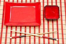 Free Empty Sushi Set Stock Images - 17067924