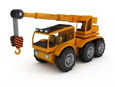 Free Truck Crane Royalty Free Stock Image - 17068936