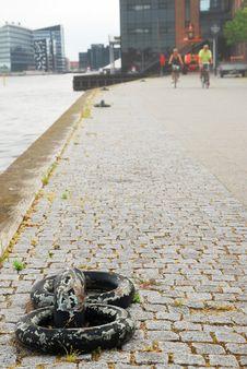 Free Embankment Of Copenhagen Royalty Free Stock Photo - 17068985