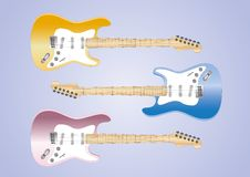 Free Guitar Collection Stock Image - 17069811