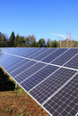 Free Detail Of The Solar Power Station In The Nature Stock Photography - 17071192