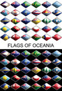 Free Flags Of Oceania, Countries, Nations, Colours Stock Image - 17072761