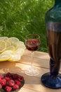 Free House Crimson Wine Stock Photos - 17074063