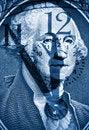Free George Washington From US One Dollar Stock Image - 17074111