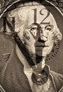 Free George Washington From US One Dollar Stock Image - 17074151