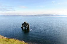 Free Lone Rock In Iceland Royalty Free Stock Photo - 17070095