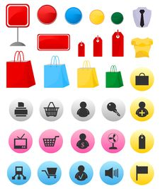 Free Icons Of Sales3 Stock Image - 17070991