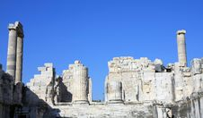 Free A View Of  Temple Of Apollo, Turkey. Stock Image - 17071541