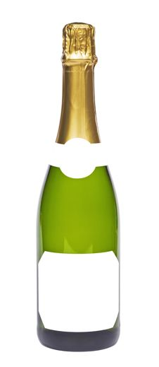 Free Bottle Of Champagne Royalty Free Stock Photo - 17074065
