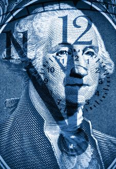 Free George Washington From US One Dollar Stock Image - 17074111