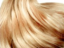 Gingery Hair Wave Royalty Free Stock Photos