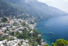 Free Positano On The Amalficoast Stock Photos - 17074343