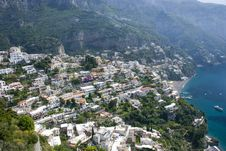 Free Positano On The Amalficoast Stock Images - 17074464