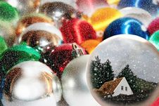 Free Wishing To Be At Home For Christmas Royalty Free Stock Images - 17075199