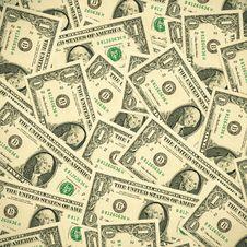Free Dollars Background Stock Photo - 17075680