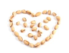 Free Heart Of The Pistachios Stock Image - 17076361