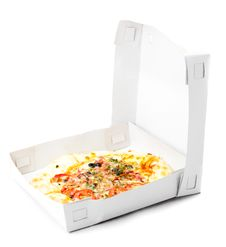 Free Pizza In A Takeaway Box Royalty Free Stock Images - 17076459