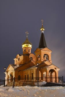 Free Piously-Vvedensky Church, Dudinka Royalty Free Stock Images - 17076479