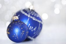 Free Bright Christmas Balls Stock Photo - 17076610