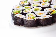 Free Japanese Sushi Stock Images - 17076654
