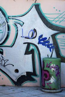 Free Urban Graffiti Stock Photos - 17076833
