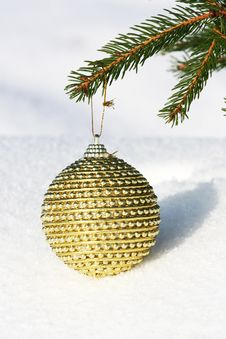 Free Christmas Bauble Stock Photos - 17077083