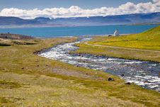 Free Iceland View - Unadsdalur Stock Photo - 17077150
