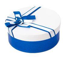 Round Shape Gift Box Stock Image