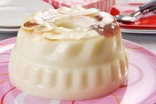 Apple Jelly Dessert Stock Image