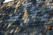 Free Shingle Roof Stock Photography - 17078322